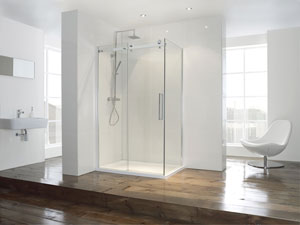 Aquaglass+ Shower Slider