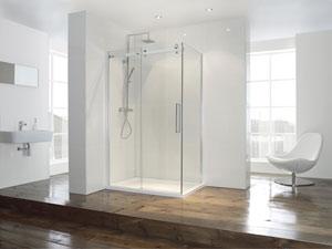 Aquaglass+ Shower Slider