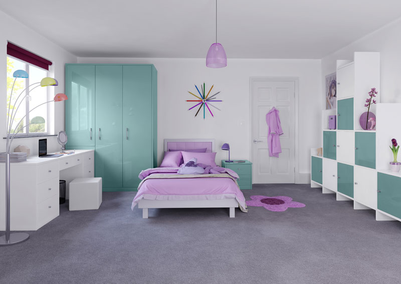 crown bedroom colours